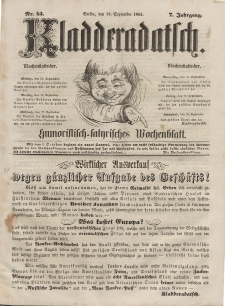 Kladderadatsch, 7. Jahrgang, 24. September 1854, Nr. 45