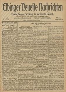 Elbinger Neueste Nachrichten, Nr. 309 Montag 10 November 1913 65. Jahrgang