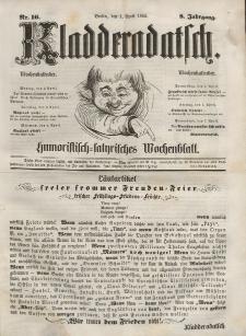 Kladderadatsch, 8. Jahrgang, 1. April 1855, Nr. 16
