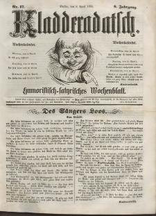 Kladderadatsch, 8. Jahrgang, 8. April 1855, Nr. 17