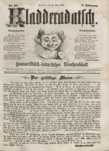 Kladderadatsch, 8. Jahrgang, 27. Mai 1855, Nr. 25
