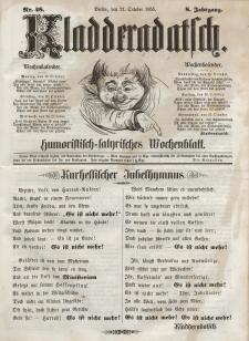 Kladderadatsch, 8. Jahrgang, 21. Oktober 1855, Nr. 48