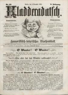 Kladderadatsch, 8. Jahrgang, 2. Dezember 1855, Nr. 55