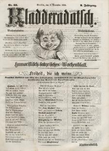 Kladderadatsch, 8. Jahrgang, 9. Dezember 1855, Nr. 56