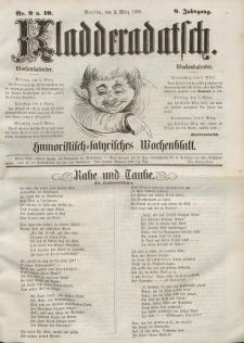 Kladderadatsch, 9. Jahrgang, 2. März 1856, Nr. 9/10