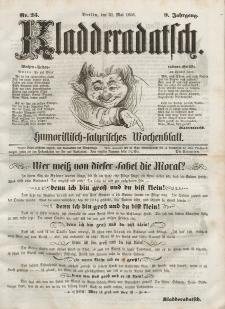Kladderadatsch, 9. Jahrgang, 31. Mai 1856, Nr. 25