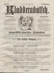 Kladderadatsch, 9. Jahrgang, 12. Oktober 1856, Nr. 47