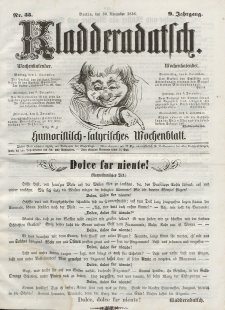 Kladderadatsch, 9. Jahrgang, 30. November 1856, Nr. 55