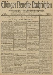 Elbinger Neueste Nachrichten, Nr. 74 Sonntag 16 März 1913 65. Jahrgang