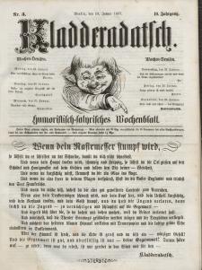 Kladderadatsch, 10. Jahrgang, 18. Januar 1857, Nr. 3