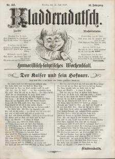 Kladderadatsch, 10. Jahrgang, 12. Juli 1857, Nr. 32