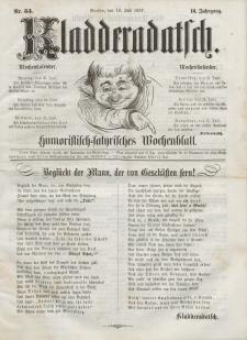 Kladderadatsch, 10. Jahrgang, 19. Juli 1857, Nr. 33