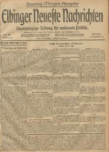 Elbinger Neueste Nachrichten, Nr. 321 Sonntag 23 November 1913 65. Jahrgang