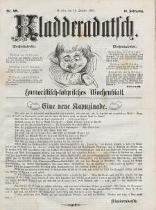 Kladderadatsch, 10. Jahrgang, 18. Oktober 1857, Nr. 48