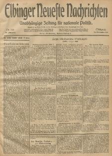 Elbinger Neueste Nachrichten, Nr. 324 Mittwoch 26 November 1913 65. Jahrgang