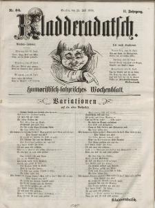 Kladderadatsch, 11. Jahrgang, 25. Juli 1858, Nr. 34
