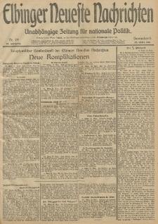 Elbinger Neueste Nachrichten, Nr. 79 Sonnabend 22 März 1913 65. Jahrgang