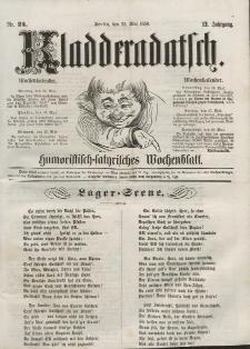 Kladderadatsch, 12. Jahrgang, 22. Mai 1859, Nr. 24
