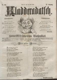 Kladderadatsch, 12. Jahrgang, 29. Mai 1859, Nr. 25