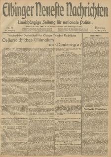 Elbinger Neueste Nachrichten, Nr. 81 Dienstag 25 März 1913 65. Jahrgang