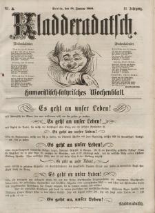 Kladderadatsch, 13. Jahrgang, 15. Januar 1860, Nr. 3