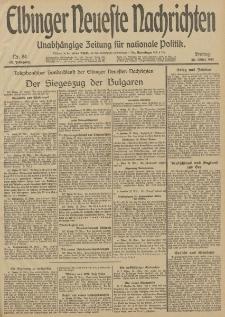 Elbinger Neueste Nachrichten, Nr. 84 Freitag 28 März 1913 65. Jahrgang