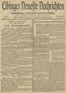 Elbinger Neueste Nachrichten, Nr. 85 Sonnabend 29 März 1913 65. Jahrgang