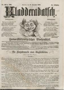 Kladderadatsch, 13. Jahrgang, 30. Dezember 1860, Nr. 59/60