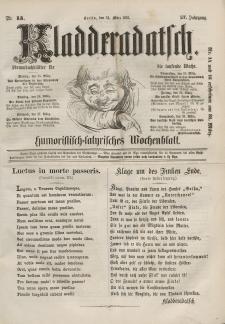 Kladderadatsch, 14. Jahrgang, 24. März 1861, Nr. 13