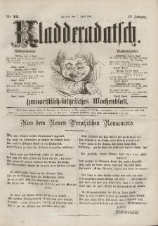 Kladderadatsch, 14. Jahrgang, 7. April 1861, Nr. 16