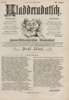 Kladderadatsch, 14. Jahrgang, 8. Dezember 1861, Nr. 56