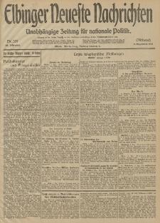 Elbinger Neueste Nachrichten, Nr. 331 Mittwoch 3 Dezember 1913 65. Jahrgang