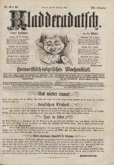 Kladderadatsch, 14. Jahrgang, 29. Dezember 1861, Nr. 59/60