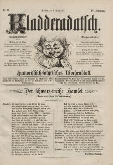 Kladderadatsch, 15. Jahrgang, 9. März 1862, Nr. 11