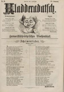 Kladderadatsch, 15. Jahrgang, 6. Juli 1862, Nr. 31