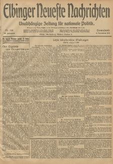 Elbinger Neueste Nachrichten, Nr. 334 Sonnabend 6 Dezember 1913 65. Jahrgang