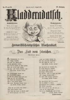 Kladderadatsch, 15. Jahrgang, 17. August 1862, Nr. 37/38