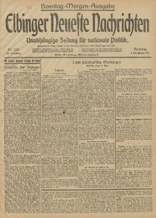 Elbinger Neueste Nachrichten, Nr. 335 Sonntag 7 Dezember 1913 65. Jahrgang