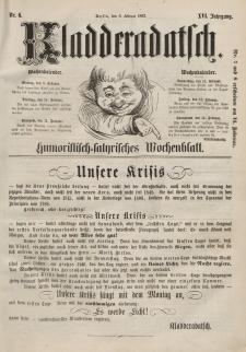 Kladderadatsch, 16. Jahrgang, 8. Februar 1863, Nr. 6