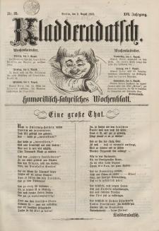 Kladderadatsch, 16. Jahrgang, 2. August 1863, Nr. 35