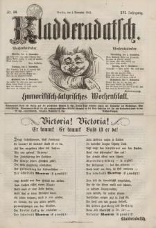 Kladderadatsch, 16. Jahrgang, 1. November 1863, Nr. 50