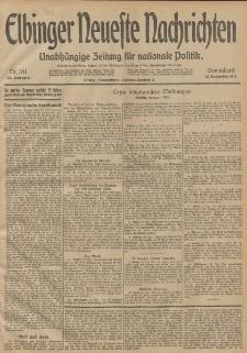 Elbinger Neueste Nachrichten, Nr. 341 Sonnabend 13 Dezember 1913 65. Jahrgang