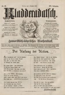 Kladderadatsch, 16. Jahrgang, 6. Dezember 1863, Nr. 56