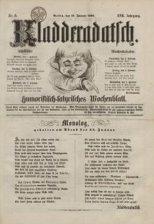 Kladderadatsch, 17. Jahrgang, 31. Januar 1864, Nr. 5