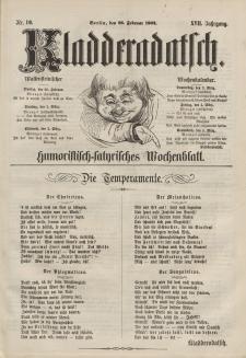 Kladderadatsch, 17. Jahrgang, 28. Februar 1864, Nr. 10