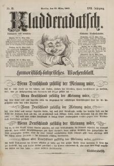 Kladderadatsch, 17. Jahrgang, 13. März 1864, Nr. 12