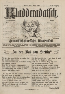 Kladderadatsch, 17. Jahrgang, 3. April 1864, Nr. 16