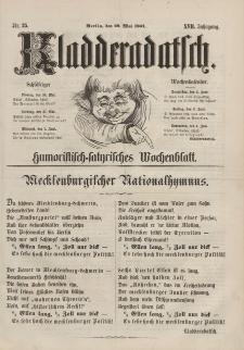 Kladderadatsch, 17. Jahrgang, 29. Mai 1864, Nr. 25