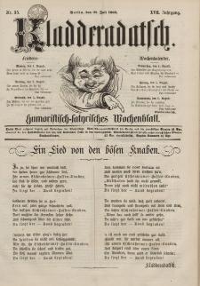 Kladderadatsch, 17. Jahrgang, 31. Juli 1864, Nr. 35