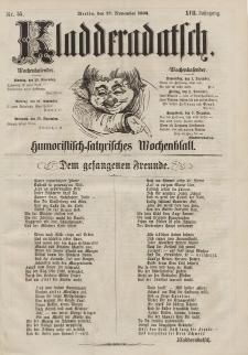 Kladderadatsch, 17. Jahrgang, 27. November 1864, Nr. 55